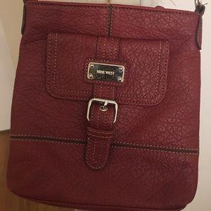 Nine West leather cross body purse